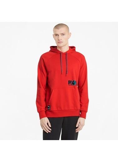 Puma Erkek Kırmızı International Sweatshirt 599799.011 Kırmızı